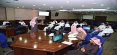 إدارة التطوير الإداري بالتعاون مع معهد الإدارة العامة تنظم عددًا من البرامج التدريبية لموظفي الجامعة